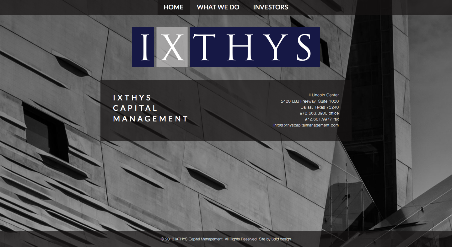 ixthys capital management