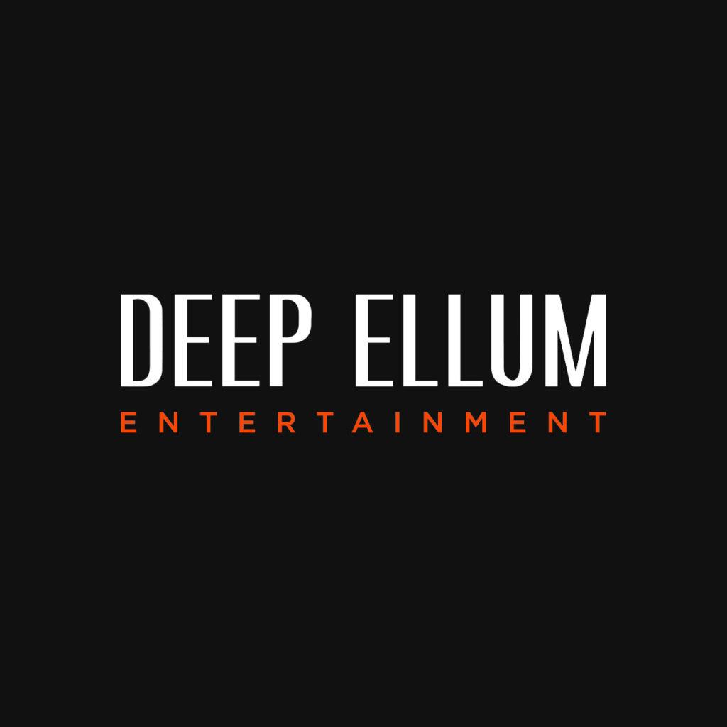 Deep Ellum Entertainment new media company logo design