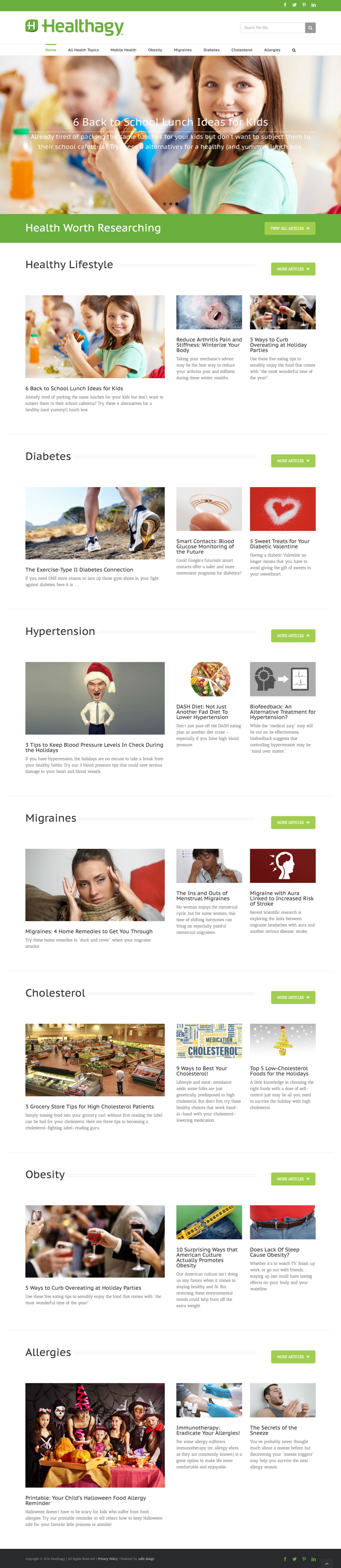 Healthagy Health Articles